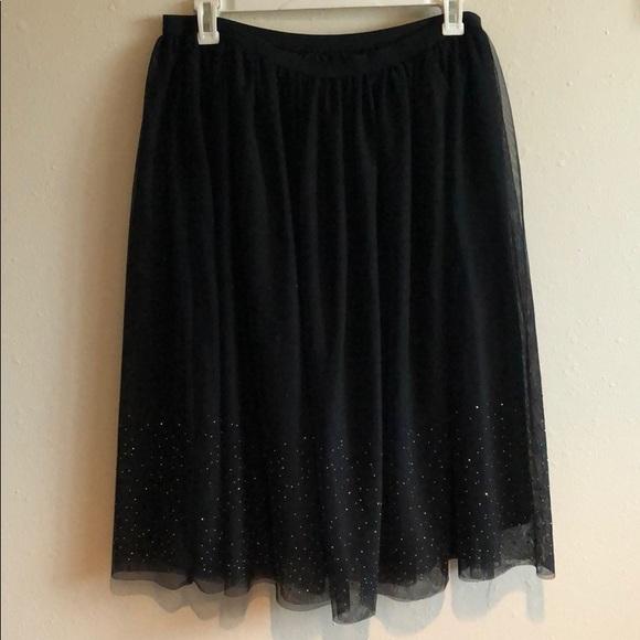 a new day Dresses & Skirts - Black tulle skirt
